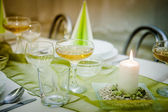Bröllops bord — Stockfoto