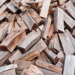 Chopped wood — Stock Photo
