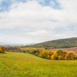Autumn landscape panorama — Stock Photo #34117059