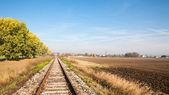 Weergave van het spoor — Stockfoto