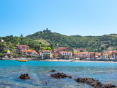 Colors of sunny Collioure — Stock Photo