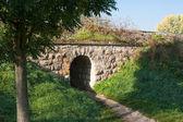 Rail underpass — Stock Photo