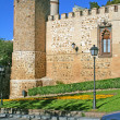 Stock Photo: Fortress wall in Toledo