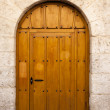 Woowen spanish door — Stockfoto #12380875