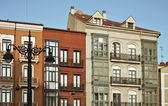 Valladolid view of typical house — Stockfoto