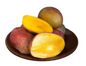 Mango on white — Stock Photo
