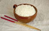 Dry rice — Stock Photo
