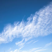 White clouds — Stock Photo