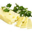 Stock Photo: Cheese emmental