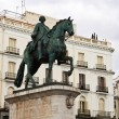 Monument of Carlos III in Madrid, Spain — Stock Photo