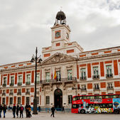House of the Post Office in Madrid February 2013 — Stock Photo