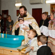 Orthodox christening ceremony — Foto de Stock