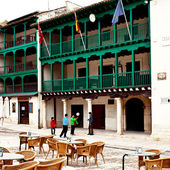 Facade of City Hall of Chinchon — ストック写真