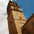Tower of Cathedral of Salamanca — Stock Photo