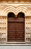 Door of convent — Stock Photo