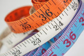 Measurement of chest waist and hips — Stock Photo