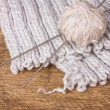Balls with thread for knitting - Stock Photo