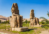 Colossi of Memnon, Valley of Kings, Luxor, Egypt — Stock Photo