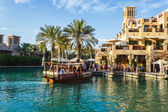 DUBAI, UAE - NOVEMBER 15: View of the Souk Madinat Jumeirah — Stock Photo