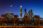 Nightlife in Dubai. UAE. November 18, 2012 — Stock Photo