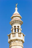 The minaret of a mosque — Stock Photo