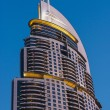 High rise buildings and streets in Dubai, UAE - Stockfoto