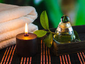 Tools and accessories for spa treatments — Zdjęcie stockowe