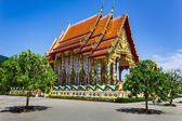 Temple of the black monk in Thailand — Stock Photo