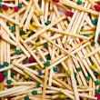 Background of wooden matches — Stock Photo #25667575