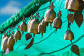 Tradition asian bell in Big Buddha temple complex, Thailand — Foto Stock