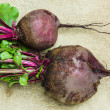 Stock Photo: Raw beets