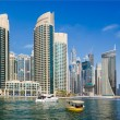 Stock Photo: Yacht Club in Dubai Marina. UAE. November 16, 2012