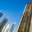 High rise buildings in Dubai — Stockfoto