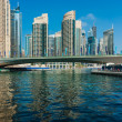 Yacht Club in Dubai Marina. — Stock Photo