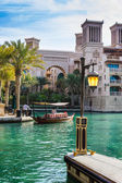 View of the Souk Madinat — Stock Photo