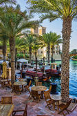 View of the Souk Madinat Jumeirah. — Stock Photo