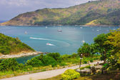Beautiful view of Phuket island — Stock Photo