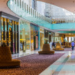 Inside modern luxuty mall. At over 12 million sq ft, it is the — Stock Photo