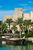 DUBAI, UAE - NOVEMBER 15: View of the Souk Madinat Jumeirah — Φωτογραφία Αρχείου