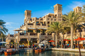 DUBAI, UAE - NOVEMBER 15: View of the Souk Madinat Jumeirah — Stock Photo