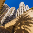 High rise buildings and streets in Dubai, UAE — ストック写真