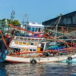 Boats at sea  in Thailand — Stock Photo