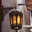 Stock Photo: Arab street lanterns in city of Dubai