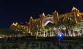 Atlantis Hotel in Dubai. UAE — Stock Photo