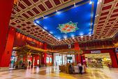 Battuta mall jest najbardziej piękny supermarket w dubaju — Zdjęcie stockowe