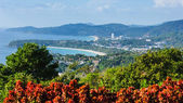 Beautiful view of Phuket island — Stock Photo