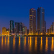 Buildings in Sharjah — Stock Photo