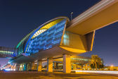 Dubai Metro a — Stock Photo