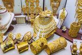 Gold market in Duba — Stock Photo