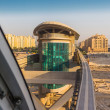 Stock Photo: Monorail station on man-made island Palm Jumeirah